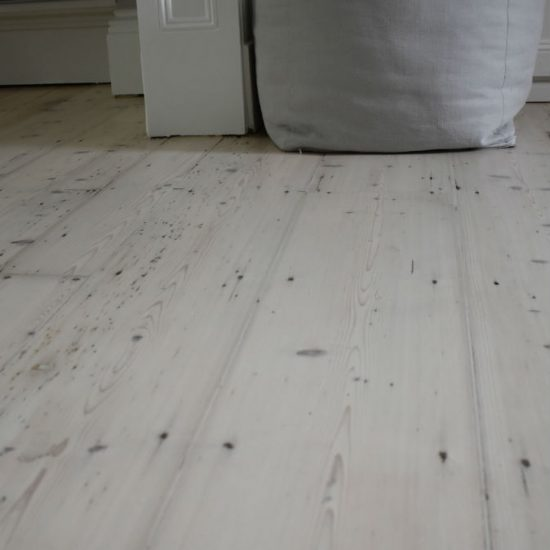 Close up of floor in lounge