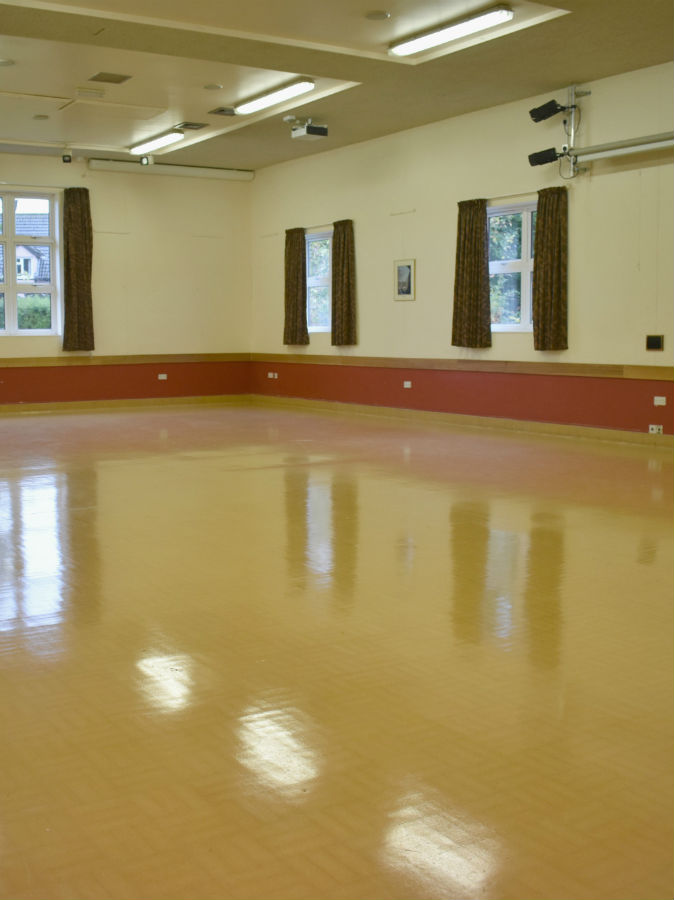 Community Centre After Sand
