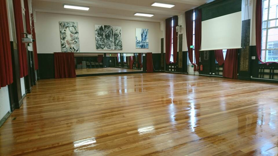 Dance Studio After Sand