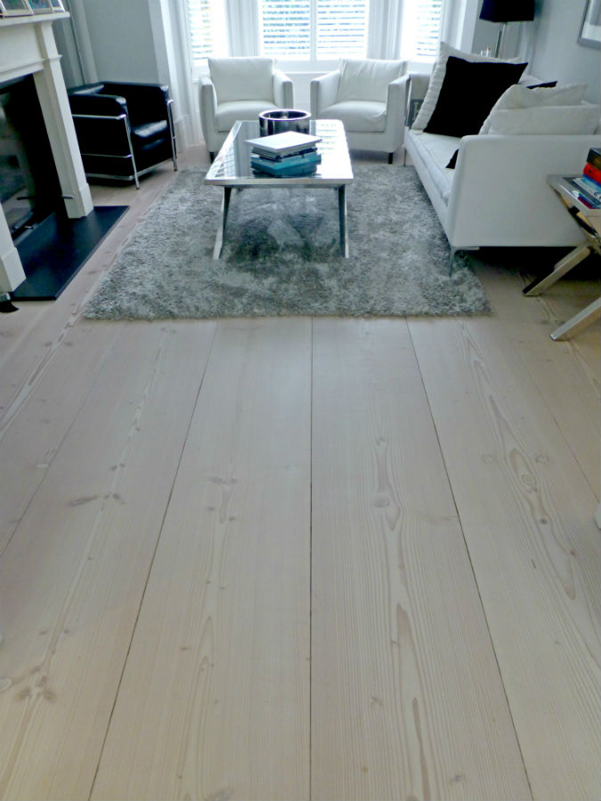 Living room Dinesen floor