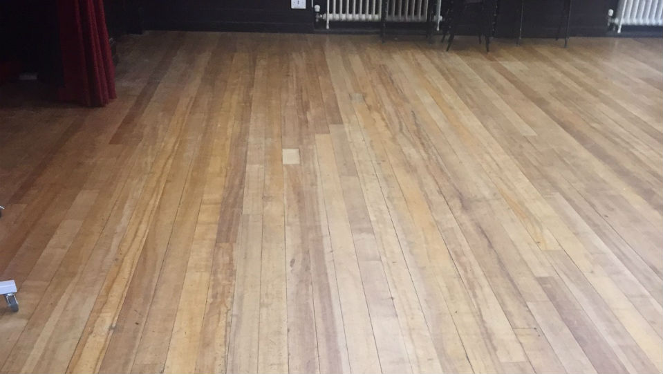 Dance Studio Before